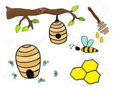23074042-Beehive-drawing-Stock-Photo